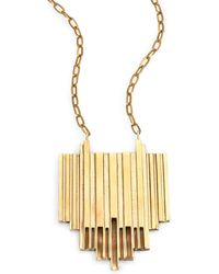 Aesa - Opening Pendant Necklace - Lyst