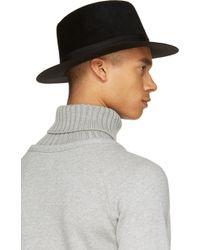 Sasquatchfabrix | Black Felted Fur Hat | Lyst