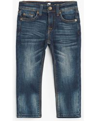 7 For All Mankind - Boy's 2t-4t Slimmy In Heritage Blue - Lyst