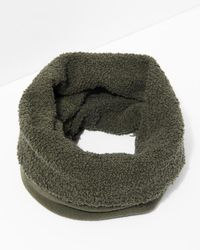 7 For All Mankind - Donni Poodle Tube Scarf In Army - Lyst