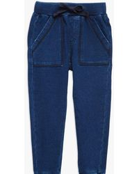 7 For All Mankind - Boys 4-7 Jogger In Indigo - Lyst