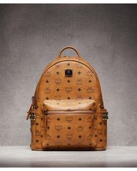 MCM - Stark Small Backpack - Lyst