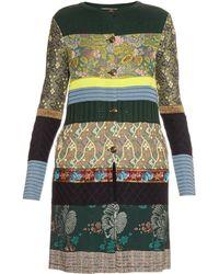 Etro | Multi-knit And Jacquard Cardigan | Lyst