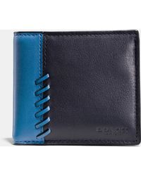 COACH | Rip And Repair Coin Wallet In Sport Calf Leather | Lyst
