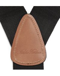 Brooks Brothers - Elasticated Woven Braces - Lyst