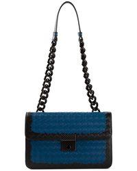 Bottega Veneta Small Intrecciato Shoulder Bag - Lyst