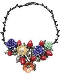 Roberto Cavalli Necklace - Lyst
