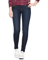 True Religion Hand Picked Super Skinny Womens Jean - Lyst