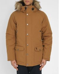 Carhartt | Camel-coloured Trapper Parka | Lyst