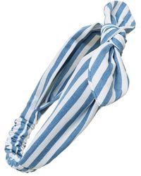 Cara | 'regatta' Stripe Head Wrap | Lyst