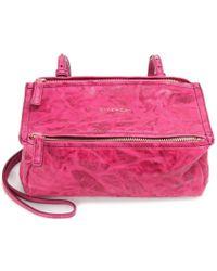 Givenchy Pandora Mini Leather Shoulder Bag - Lyst