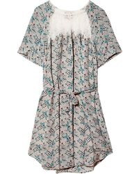 Sea Popover Dress - Lyst