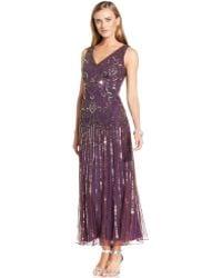 Pisarro Nights - Embellished Dropwaist Gown - Lyst