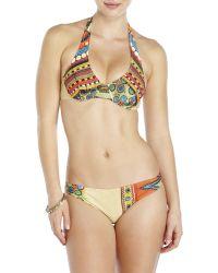 Jean Paul Gaultier - Beige Printed Bikini - Lyst