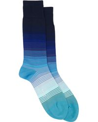 Paul Smith Dégradé Stripe Mid-calf Socks - Lyst