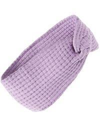 Echo - 'twisted' Head Wrap - Purple - Lyst
