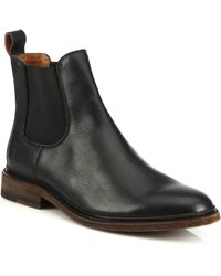 Frye | James Leather Chelsea Boots | Lyst
