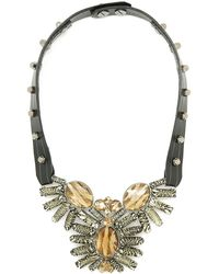 Moutoncollet - Moutton Collet Leather Berlin Necklace 21 - Lyst