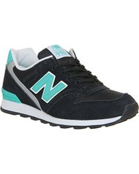 New Balance Wr996 Lace-Up Trainers - For Women - Lyst