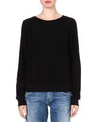 Wildfox Relaxedfit Sweatshirt Black - Lyst