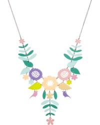 Tatty Devine - Pastel Mexican Embroidery - Lyst