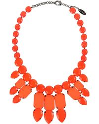Roberto Cavalli Necklace red - Lyst