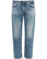 Ag Adriano Goldschmied The Drew Straight-Leg Boyfriend Jeans - Lyst