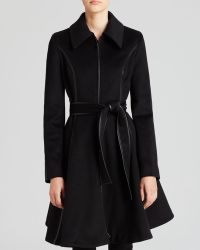 Dawn Levy Dl2 By Coat - Fergie Ii Skirted Belted - Lyst