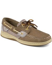 Sperry Top-Sider Bluefish Leather Boat Shoes - Lyst