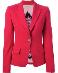 Emilio Pucci Decorative Button Blazer - Lyst