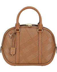 Burberry Small Orchard Embossed Leather Bag - Lyst