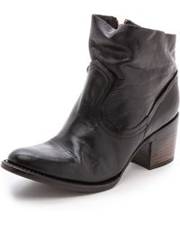 Freebird by Steven Salt Slouch Booties - Black - Lyst