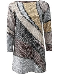 Marc Jacobs Wave Sequin Tunic - Lyst
