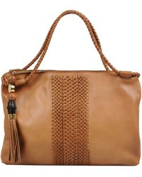 Gucci Brown Handbag - Lyst