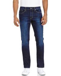Joe's Jeans Dark Wash Brixton Jeans - Lyst