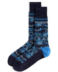 Paul Smith Pixel Camo Socks - Lyst
