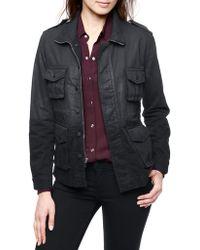 True Religion Isabelle Utility Coated Womens Jacket - Lyst