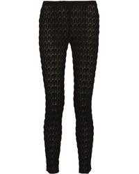 Missoni Crochet-knit Slim-fit Pants - Lyst
