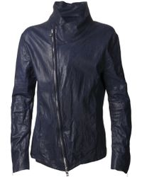 Incarnation - Leather Zip Jacket - Lyst