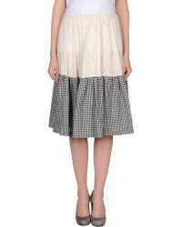 Max Mara 3/4 Length Skirt - Lyst