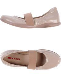 Prada Sport Ballet Flats - Lyst