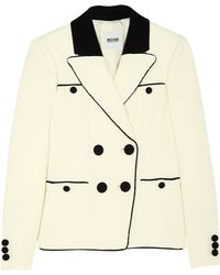 Moschino Cheap & Chic Contrast Piping Smart Jacket - Lyst