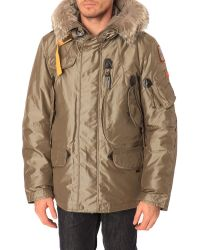 Parajumpers Arches Parka Removable Lining in Olive - Lyst