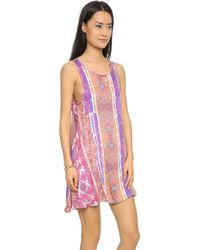 MINKPINK Magenta Carpet Dress - Multi - Lyst