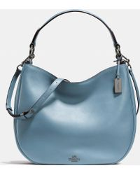 COACH | Nomad Hobo In Glovetanned Leather | Lyst