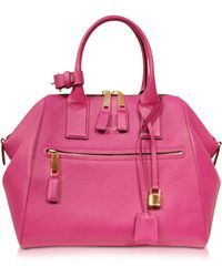 Marc Jacobs - Textured Large Raspberry Incognito Satchel - Lyst