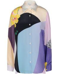 3.1 Phillip Lim Long Sleeve Shirt - Lyst