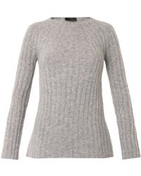The Row Ede Ribbedknit Cashmereblend Sweater - Lyst