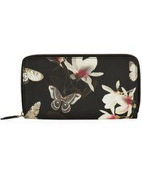 Givenchy Butterfly Zip-Around Wallet - Lyst