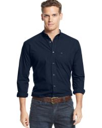 Tommy Hilfiger Wells Solid Shirt - Lyst